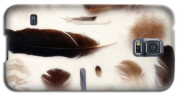 Finding Feathers Galaxy S5 Case by Angie Rea