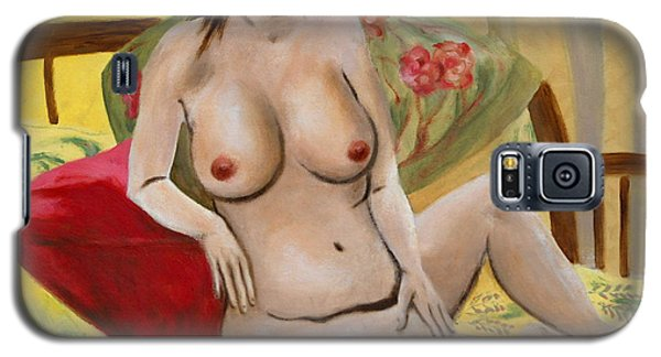 Fine Art Female Nude Seated 2010 Galaxy S5 Case
