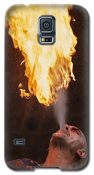 Fire Eater 2 Galaxy S5 Case