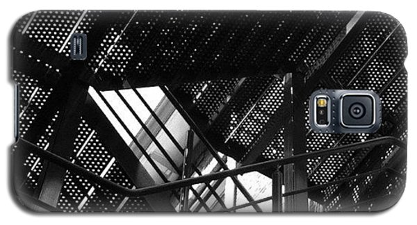 Professional Galaxy S5 Case - Fire Escape. #steel #construction by Robbert Ter Weijden