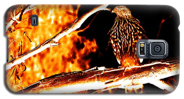 Fire Hawk 0112 Galaxy S5 Case