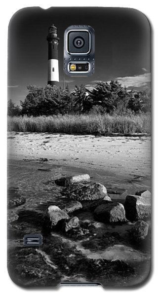 Fire Island In Black And White Galaxy S5 Case