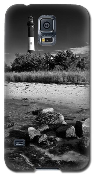 Fire Island In Black And White Galaxy S5 Case by Rick Berk