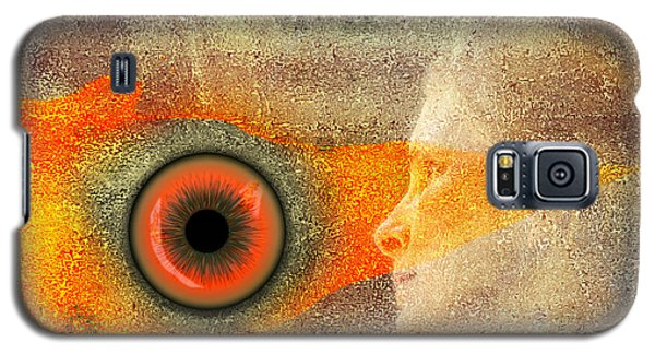 Fire Look Galaxy S5 Case by Rosa Cobos