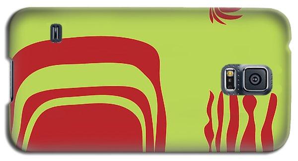 Fire Spirit Cave Galaxy S5 Case