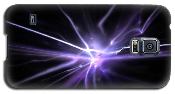 Galaxy S5 Case featuring the digital art Firefly by Kim Sy Ok