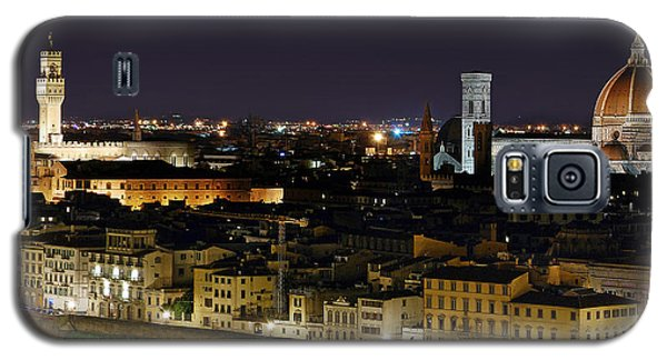 Firenze Skyline At Night - Duomo And Surroundings Galaxy S5 Case