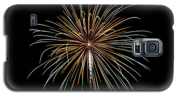 Galaxy S5 Case featuring the photograph Fireworks 10 by Mark Dodd