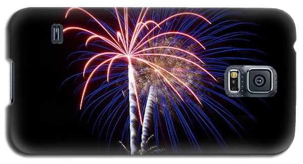 Galaxy S5 Case featuring the photograph Fireworks 12 by Mark Dodd