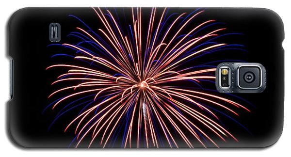 Galaxy S5 Case featuring the photograph Fireworks 7 by Mark Dodd
