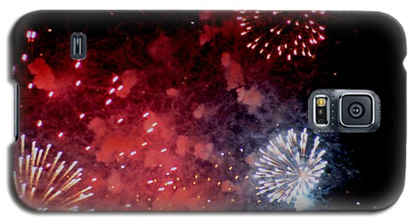 Galaxy S5 Case featuring the photograph Fireworks II by Kelly Hazel