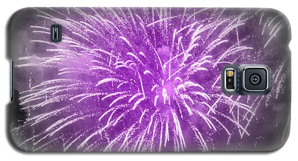 Fireworks In Mauve Galaxy S5 Case by France Laliberte