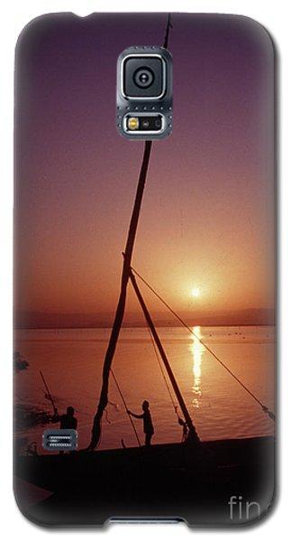 Galaxy S5 Case featuring the photograph Fishermen by Vilas Malankar