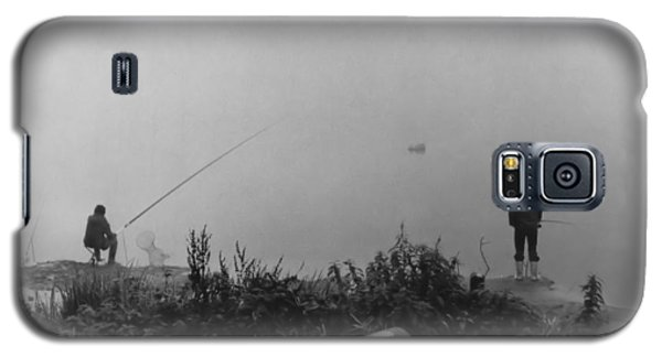 Fishin On The Rhine Galaxy S5 Case by Bob Wall