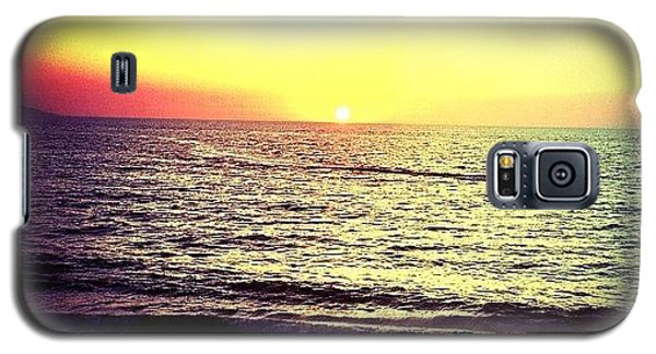 Fishing At Sunset (puerto Vallarta) Galaxy S5 Case