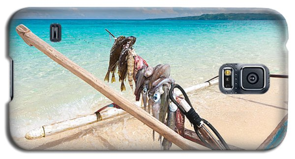 Fishing Boat Galaxy S5 Case by Hans Engbers