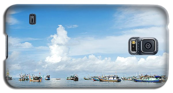 Fishing Boat Galaxy S5 Case