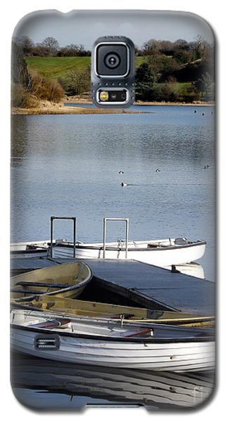 Fishing Boats Galaxy S5 Case by Linsey Williams