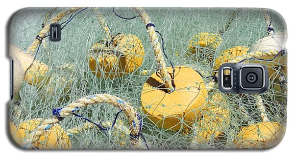 Fishing Nets And Weights Galaxy S5 Case by Anne Mott