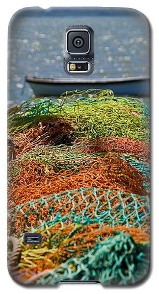 Fishing Nets Galaxy S5 Case by Trevor Chriss
