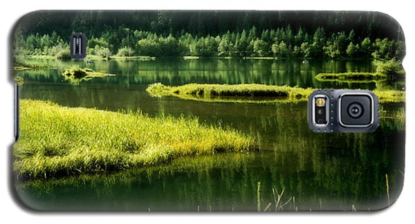 Fishing The Still Water Galaxy S5 Case by Katie Wing Vigil