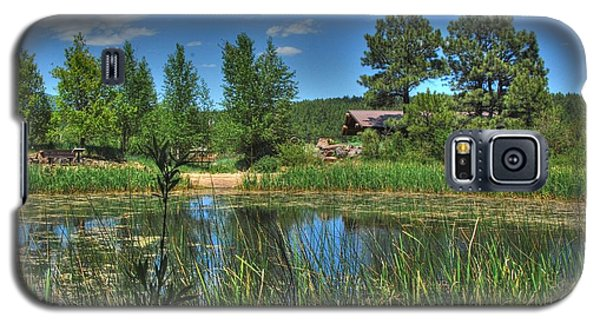 Galaxy S5 Case featuring the photograph Flagstaff by Tam Ryan