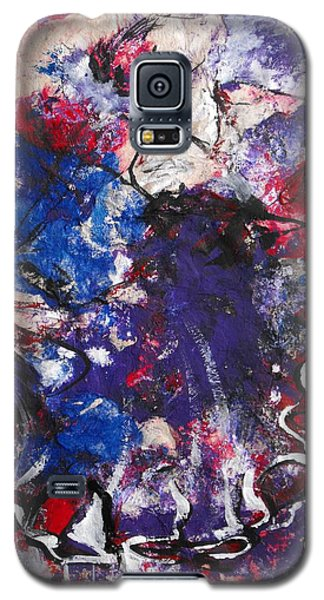 Galaxy S5 Case featuring the painting Flamenco Dancer 6 by Koro Arandia