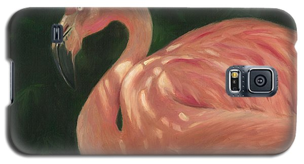 Flamingo In Dappled Light Galaxy S5 Case