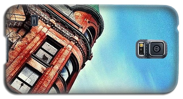 Flat Iron Building Galaxy S5 Case by Christopher Campbell