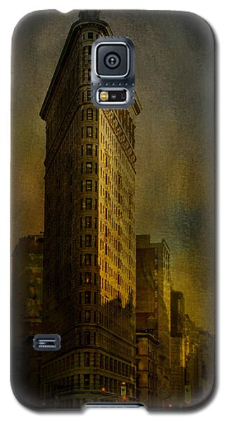Flatiron Building...my View..revised Galaxy S5 Case by Jeff Burgess