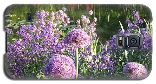 Floral Scene Garden Path Reflections Galaxy S5 Case