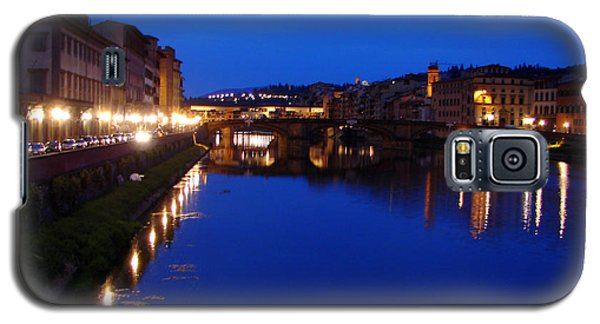 Florence Arno River Night Galaxy S5 Case by Patrick Witz