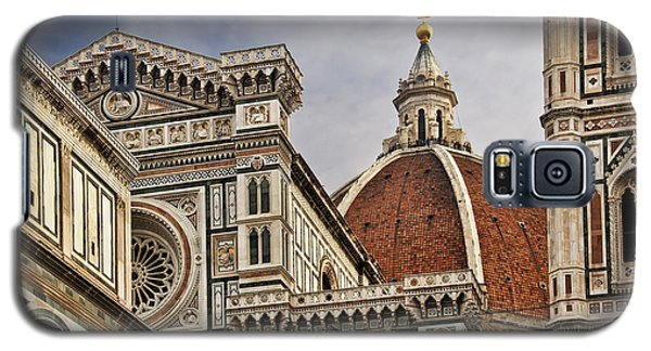 Galaxy S5 Case featuring the photograph Florence Duomo by Steven Sparks