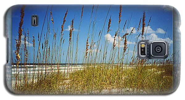 Perfect Day At A Florida Beach Galaxy S5 Case by Barbara Middleton