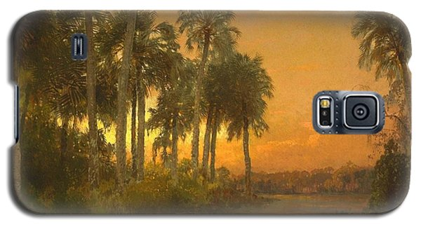 Florida Sunset Galaxy S5 Case by Pg Reproductions