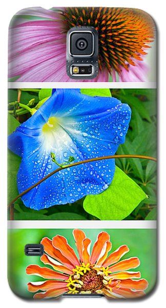 Flower Collage Part Two Galaxy S5 Case