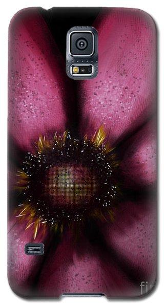 Flower In Pink Galaxy S5 Case