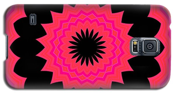 Galaxy S5 Case featuring the digital art Flower Power by Carolyn Repka