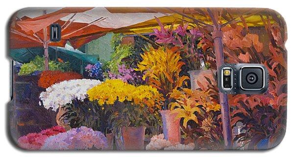 Flower Stand Galaxy S5 Case