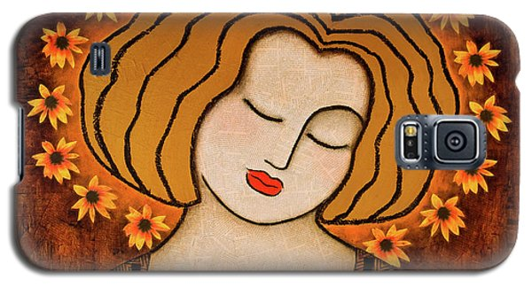 Galaxy S5 Case featuring the painting Flowering Intuition by Gloria Rothrock