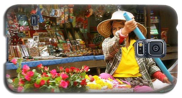 Flowers For Sale Galaxy S5 Case by Robin Regan