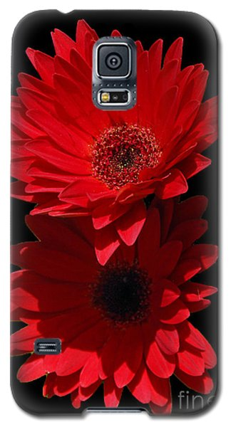 Galaxy S5 Case featuring the photograph Flowers From My Son by Cindy Manero