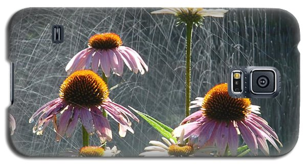 Flowers In The Rain Galaxy S5 Case