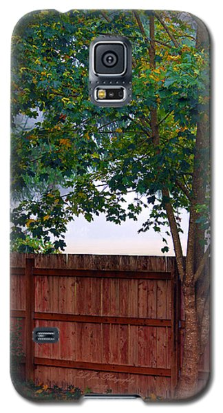 Galaxy S5 Case featuring the photograph Fog In Olympia by Jeanette C Landstrom