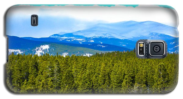 Galaxy S5 Case featuring the photograph Fog In The Rockies by Shannon Harrington