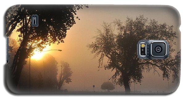 Foggy Morn Street Galaxy S5 Case