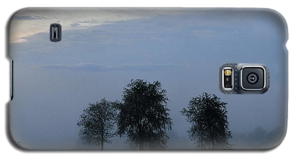 Foggy Pennsylvania Treeline Galaxy S5 Case