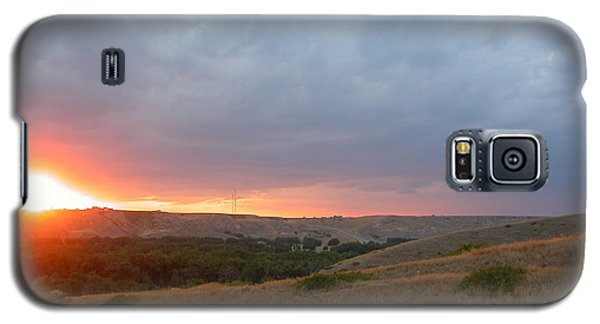 Foothills Sunset Galaxy S5 Case by Stuart Turnbull