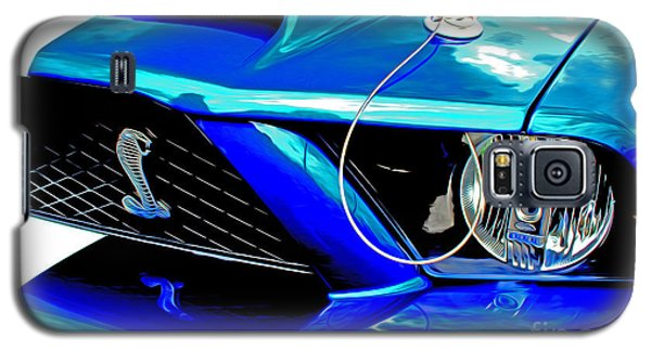 Galaxy S5 Case featuring the digital art Ford Mustang Cobra by Tony Cooper