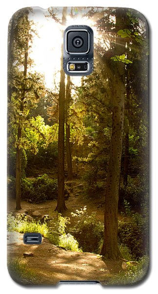 Forest Galaxy S5 Case by Nadya Ost